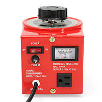 TDGC-0.5KVA 500W 110V Переменный автоматический трансформатор переменного тока 0-130V 500VA US Plug