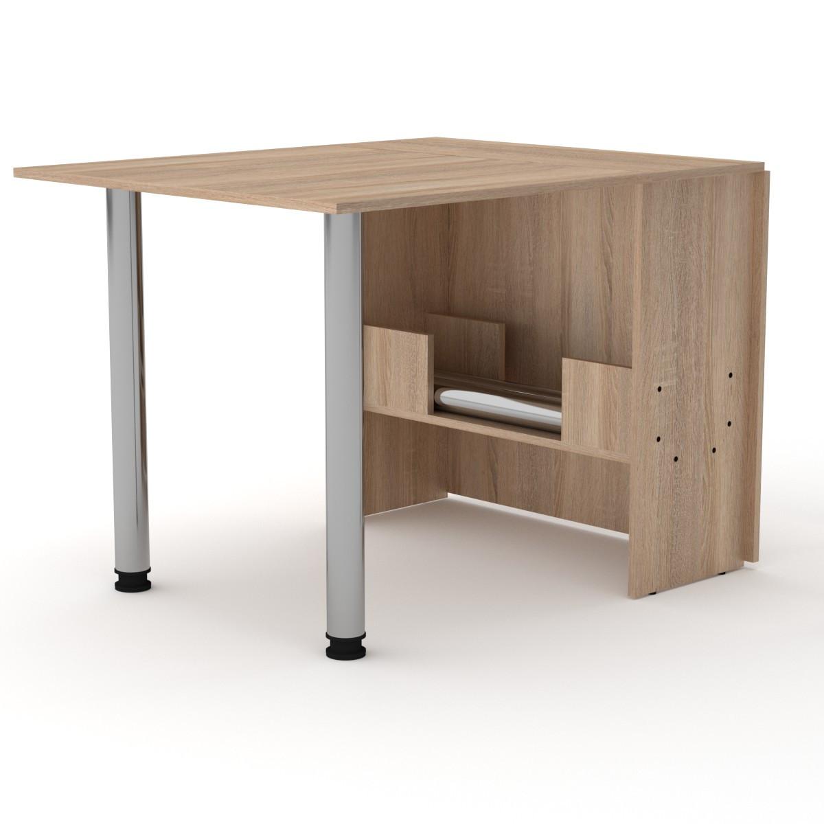 Стол книжка 2 дуб сонома Компанит (170х81х73 см)