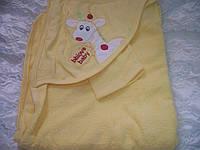 """Полотенце """"Жирафик"""" (желтый)"""