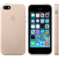 Original (HC) silicone case iPhone 5/5s/SE beige
