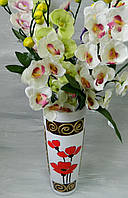 Скляна ваза Мажестік № 39 Стеклянная ваза Мажестик