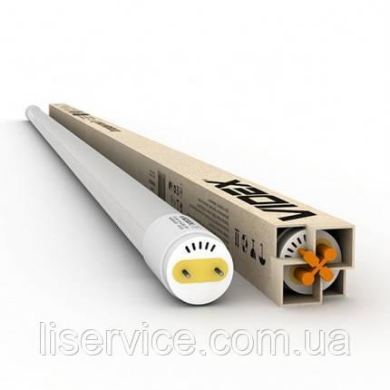 Светодиодная лампа VIDEX T8b 18W 1.2M 6200K 220V, матовая, фото 2