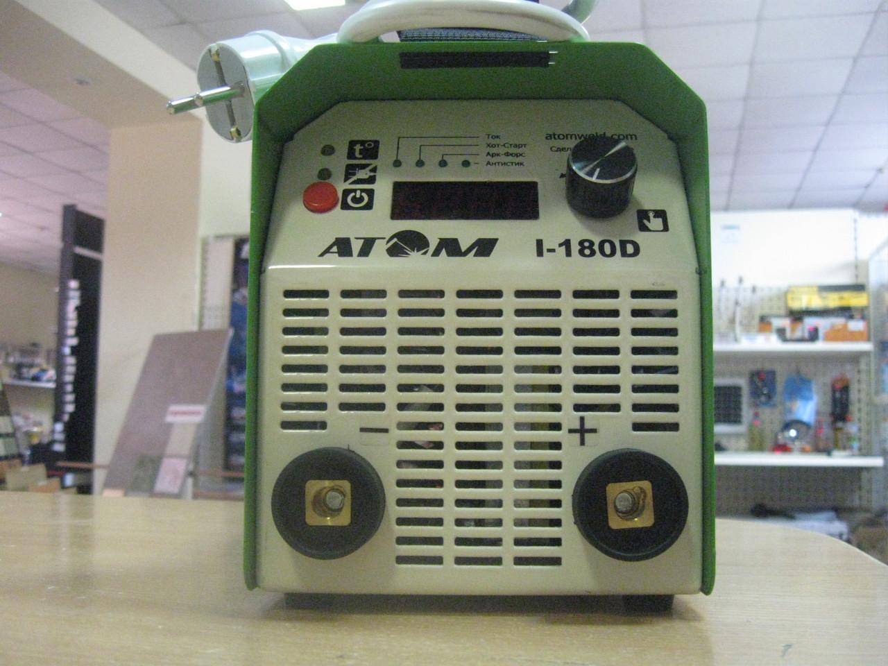 Сварочный инвертор АТОМ I-180D_1 без кабелей
