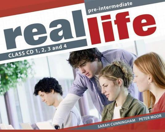 Real Life Pre-Intermediate Class CDs, фото 2