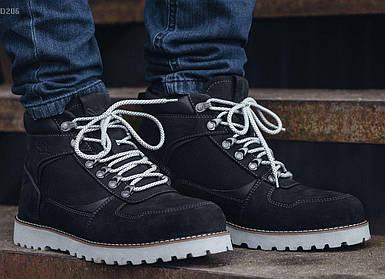 Зимние ботинки Staff черные NORTH black D206