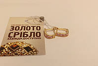 Золотые серёжки, вес 1.13 грамм. Цена 1028 грн.