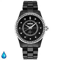 Женские водостойкие часы браслет SKMEI 1159 Black Diamond