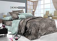 Комплект постельного белья евро сатин, 100% хлопок. (арт.8640)