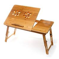 Столик для ноутбука 350011 с 2-мя вентиляторами для работы в постел или на диване