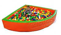 Сухой бассейн KIDIGO™ Угол 1,5 м