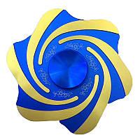 ECUBEEТорнадоHandSpinnerцинковыйсплав Fidget Spinner Finger Focus Уменьшить стресс-гаджет