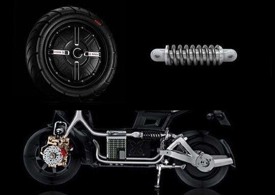 электрический мотор электроскутера