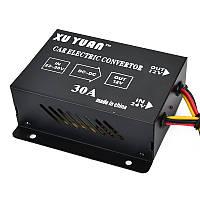 Авто 30A DC 24V до 12V эффективный блок питания трансформатор электрический преобразователь