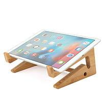 Многофункциональный деревянный съемный рабочий стол Stand Holder для ноутбука Macbook Tablet Phone Клавиатура