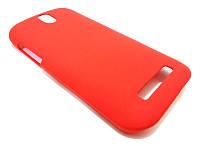 Чехол пластиковый бампер для HTC T326e Desire SV, PM6100 красный (матовый)