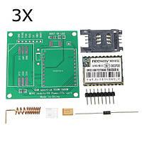 3 штук DIY M590E GSM GPRS Коммуникационный модуль Набор Dual Стандарты 900/1800MHZ 85,6 Кбит/с Для Arduino