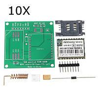 10 штук DIY M590E GSM GPRS Коммуникационный модуль Набор Двойной Стандарты 900/1800MHZ 85,6 Кбит/с Для Arduino