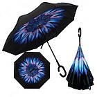 Стильный зонт наоборот ЗЖ1018, фото 2