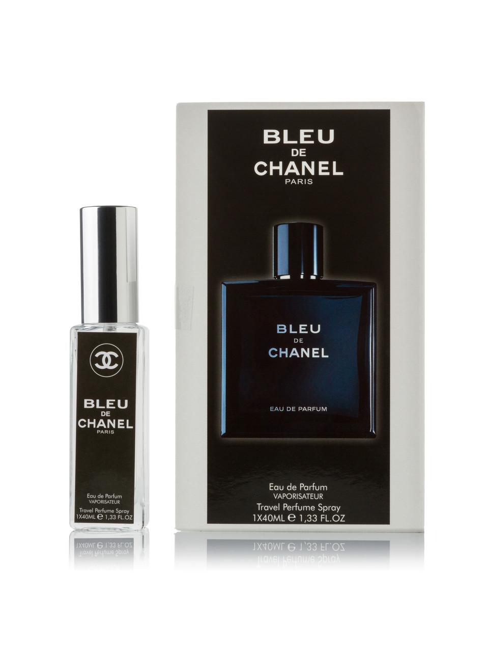 Мини парфюм Chanel Bleu de Chanel 40 мл в подарочной упаковке ( для мужчин)