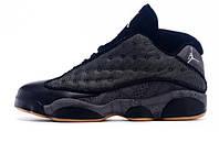 Мужские Баскетбольные кроссовки Nike Air Jordan 13 Retro Low QUAI 54 Dark  Blue Grey ( b2a95eff4c4