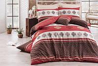 Комплект постельного белья Eponj Home Mirla bordo
