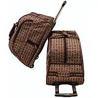 Винтажная сумка дорожная на колёсах 2-ка BD53009