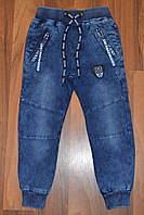 ДЖИНСОВЫЕ брюки ДЖОГГЕРЫ для мальчиков ,.Размеры 116-146 см.Фирма GRACE.Венгрия, фото 1