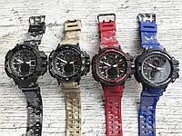 Спортивные мужские часы Casio G-Shock 4 цвета
