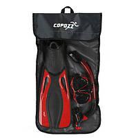 COPOZZ35*72CMСеткадля хранения Сумка для плавания Дайвинг Портативные ласты Fins Handbag