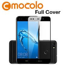 Защитное стекло Mocolo Full сover для Huawei Nova Lite 2017 черный