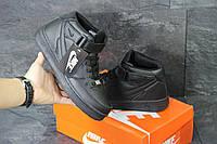 Кроссовки Nike Air Force, чёрные