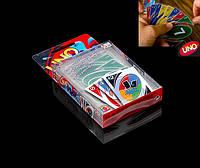 Uno H2O настольная карточная игра, от 7 лет, влагостойкие пластиковые
