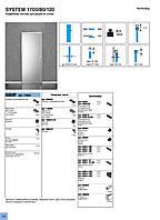 Раздвижная система для стекла 80/120кг Koblenz Art.1700/2
