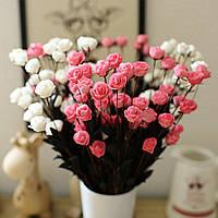 Honana DX-F1 15Pcs Head Fake Rose Bouquets Партия Искусственные цветы для дома Свадебное Декор