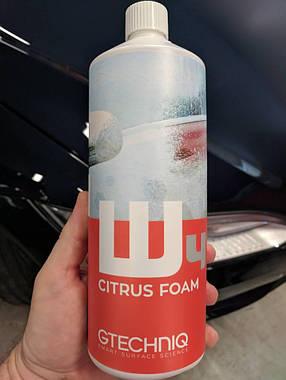 Gtechniq W4 Citrus Foam склад для попередньої мийки на основі цитрусових, фото 2