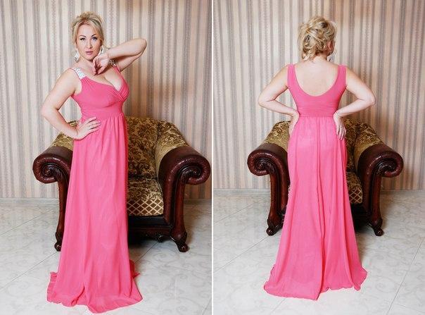 Длинное вечернее платье. L, M