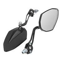 8 мм 10 мм мотоцикл Зеркала заднего вида для Honda/Yamaha / Suzuki / Harley Universal