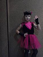 Новогодний костюм Кошка чёрная оптом