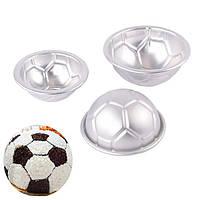 6шт. Комплект алюминиевых металлических спрей для футбольных бант-бомб 3 Размер DIY Торт-ремесла