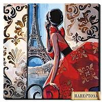"""Набор для изготовления картин в технике Папертоль """"Окно в Париж"""""""