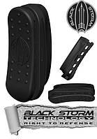 Combat stock butt pad blackstorm Резиновый затыльник на приклад АК