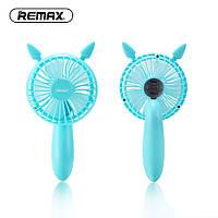 Remax Летний перезаряжаемый портативный мини-злой вентилятор охлаждения Складная USB-зарядка Ручной охлаждающий вентилятор