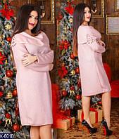 Женское платье с бисером (ботал)