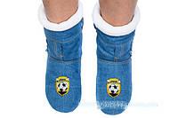 Оригинальные джинсовые тапки-сапожки  с 18 по 45 размер