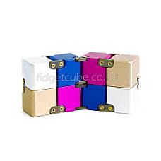 Infinity cube - инфинити куб - Fidget toy разноцветный 9801-4, фото 2