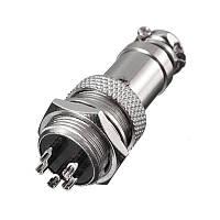 GX16 16 мм 5-контактный разъем для мужчин и женщин Провод Панель Коннектор Циркуляр Коннектор