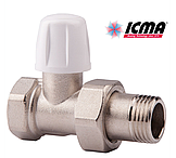 Краны радиаторные ICMA
