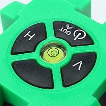 Зеленый 5 Линия 6 Очки Лазер Уровень 360 Вращающийся Лазер Линия самовыравнивания с Штатив, фото 3