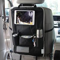Хонана HN-X6 Автокресла организатора сиденья Висячие ткани Box бутылки Sotrage сумка держатель планшета