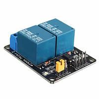5V 2-канальная плата управления реле с защитой оптопары для Arduino